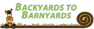 Backyards to barnyards logo