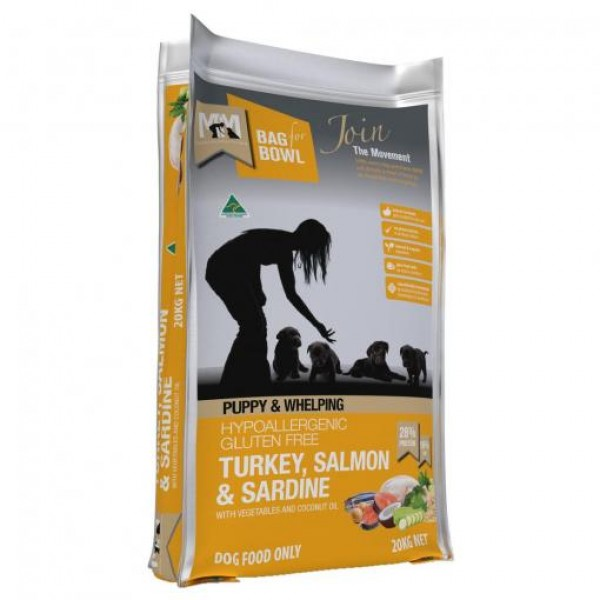 Meals For Mutts Turkey, Salmon & Sardine